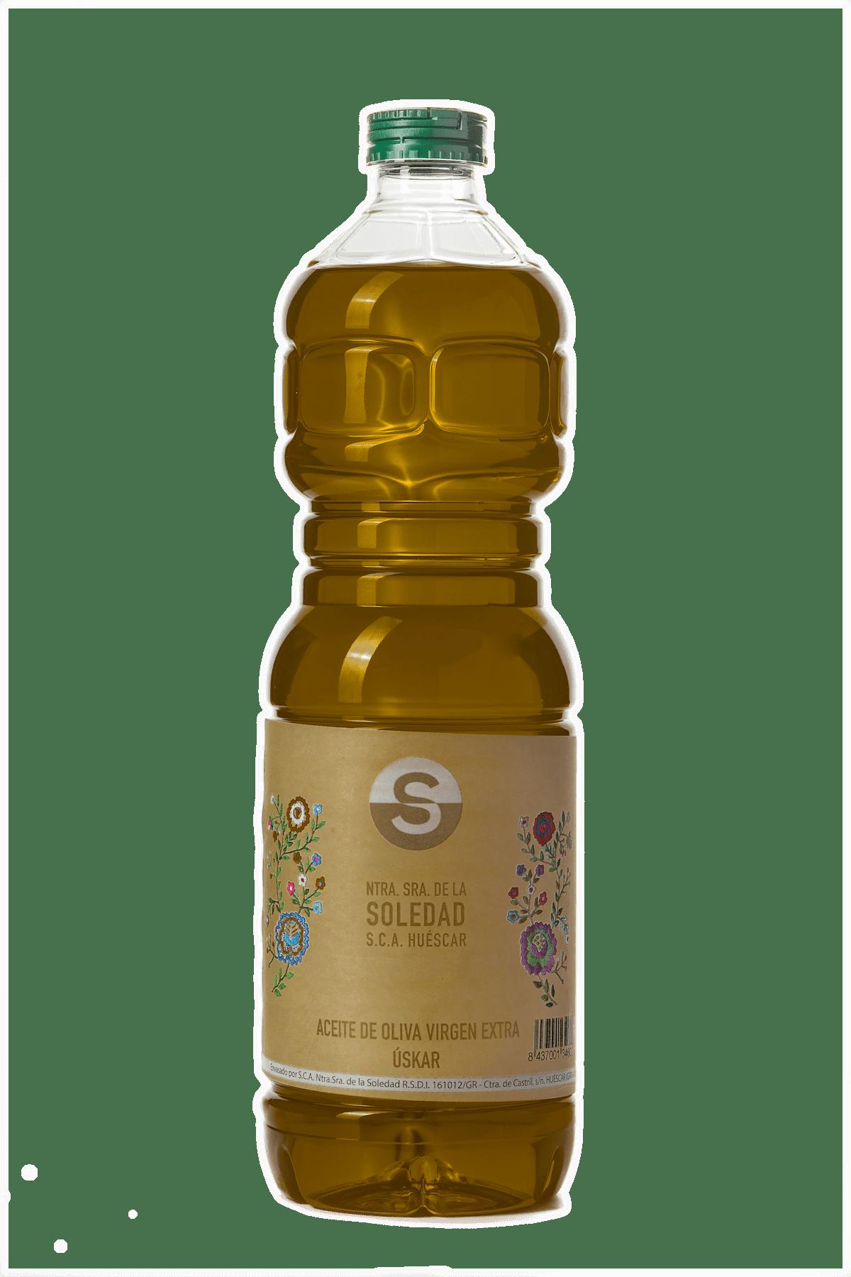 Aceite Cooperativa La Soledad botella 1 L.