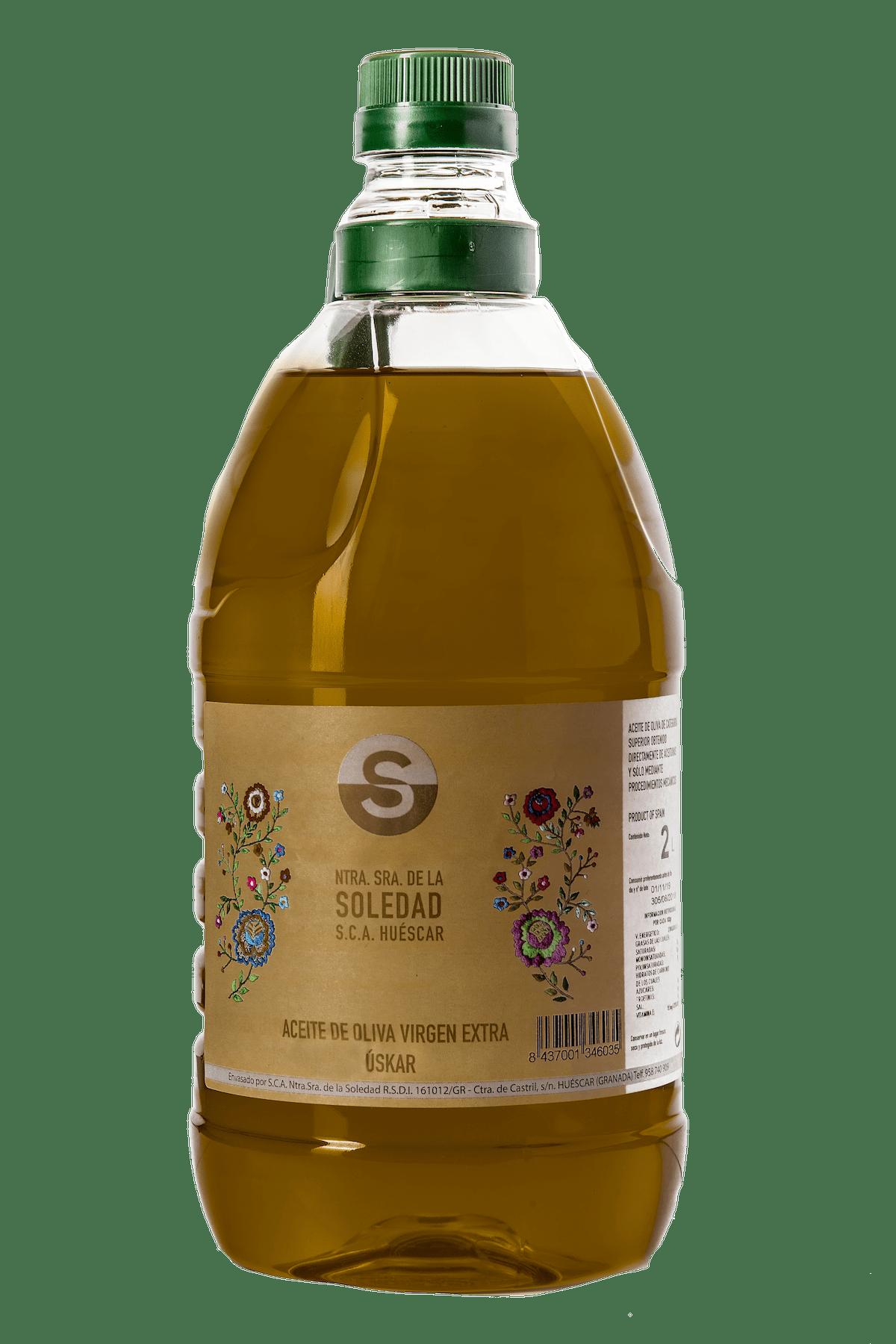 Aceite Cooperativa La Soledad garrafa 2L
